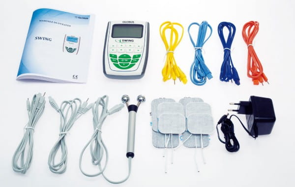 Elektrostimulationsgerät für elektrische Muskelstimulation - Lieferumfang