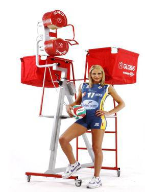 Globus Winshot 800 Volleyball Training Ballwurfmaschine