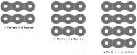 3 verschiedene Varianten mit 6, 9 oder 12 Magnetfeldspulen