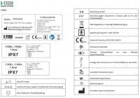 I-Tech UT2 Label und Bedeutungen