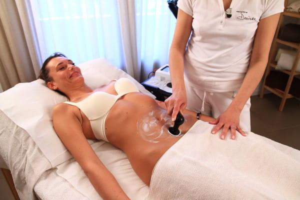 Radiofrequenztherapie Fettabbau Bauch