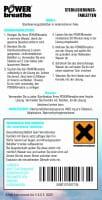 Anleitung zur Nutzung der Reinigungstabletten