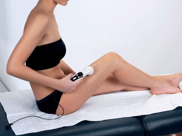 Ultraschallanwendung Oberschenkel