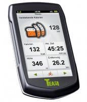 Teasi One Fahrradtacho mit GPS