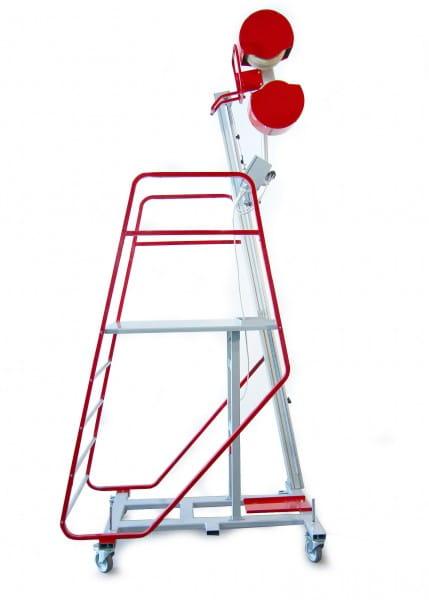 Ballwurfmaschine für Handballer