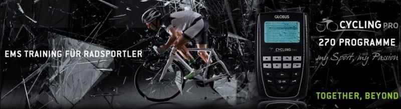 Globus Cycling Pro - EMS Gerät für Radsportler