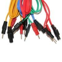 Satz mit 4 COMPEX Wire-Kabeln 6P