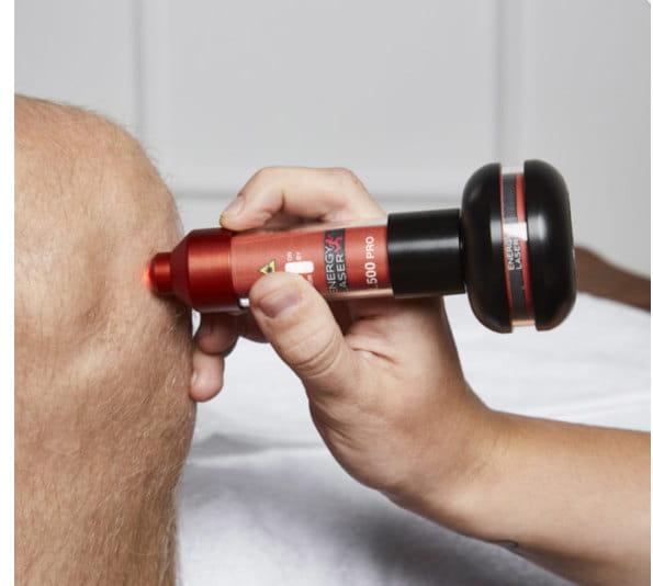 Lasertherapie Knieschmerzen
