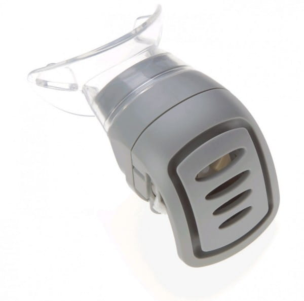 POWERbreathe Ventil mit Mundstück grau