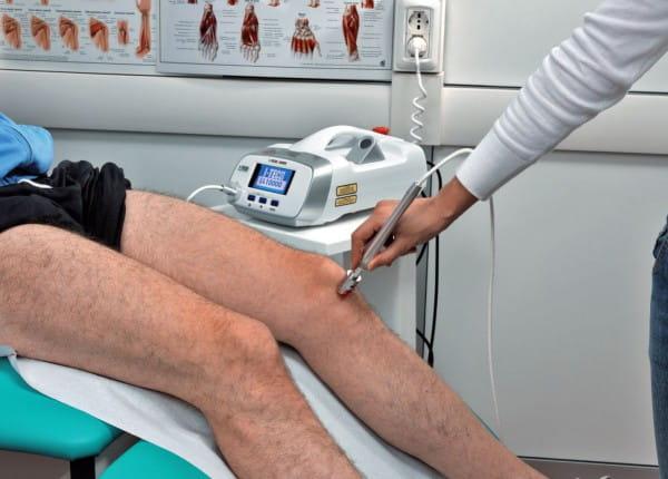 Lasertherapie Kniebeschwerden