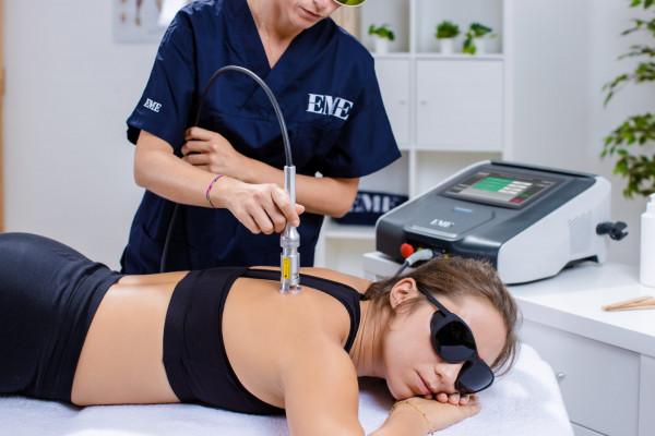 Hochleistungslaser für Physiotherapie