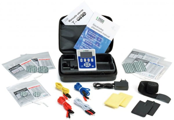 T-One Rehab Lieferumfang - Elektrostimulationsgerät