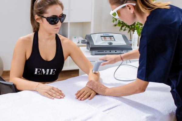 LLLT Lasertherapie Epicondylitis