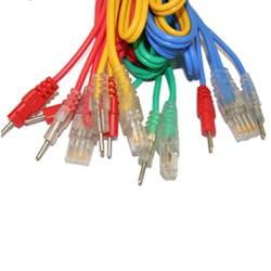 Satz mit 4 COMPEX Wire-Kabeln 8P