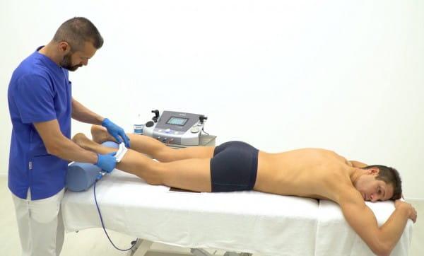 Faszien Behandlung mit TECAR